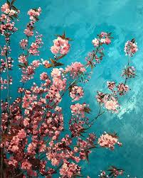 cherry blossom painting cherry blossom painting acrylic