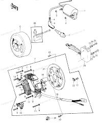 1976 kawasaki ke100 wiring diagram ignition