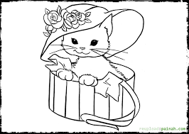 Small Picture Javanese Animal Coloring Pages AnimalCute 8 Free Printable Kitten