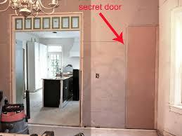 hidden door in drywall. week 8 kitchen reno hidden closet door in drywall t