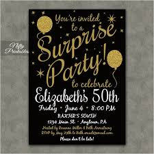 Printable Surprise Birthday Invitations Magdalene Project Org