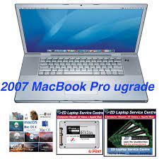 Apple MacBook Pro 2007 (Mid) 15-inch 17-inch MacBookPro3,1 SSD RAM OSX  UPGRADE - ZD Laptop Service Centre
