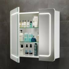 bathroom mirror cabinets with lights. Delighful Cabinets Bathroom Square Mirror Cabinet With Lights And Storage Shelves And Mirror Cabinets With Lights M