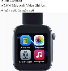 Đồng Hồ Thông Minh Smart Watch C6 Giá Rẻ Tại Hà Nội - Tp. Hcm, Đồng Hồ