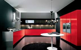 black and red kitchen designs. Luxury Italian Kitchen Designs Ideas Kitchens Black And Red R