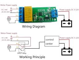dc 5 polarity inversion module delay timer relay for motor toy car dc 5 polarity inversion module delay timer relay for motor toy car led in integrated circuits from electronic components double pole wiring diagram single