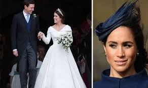 Tillett and howard also allege that meghan made princess eugenie and her mother, sarah ferguson, furious by sharing the news on eugenie's big day. Meghan Markle Baby Vs Princess Eugenie Wedding Did Meghan Really Upstage The Bride Royal News Express Co Uk
