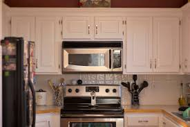 Oak To White Cabinets Painting Oak Kitchen Cabinets Antique White Monsterlune