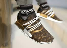 louis vuitton x adidas. supreme x louis vuitton adidas nmd r1 speedy - @jonnnnnruiz (2) e