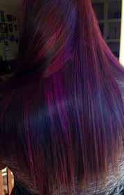 Purple Red Hair Amazing Hair Done