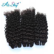 <b>Ali Sky Hair</b> 5x5 Kinky Curly Top Lace Closure Remy Human <b>Hair</b> ...