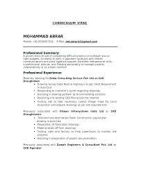 Draftsman Resumes Mechanical Drafter Sample Resume Podarki Co
