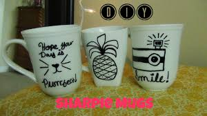 Sharpie Cup Designs Diy Sharpie Mugs Diy Idea