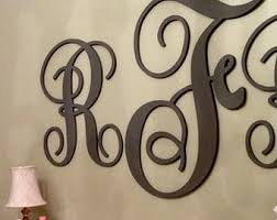 wall decor letters wood home decoration club  on metal lettering wall art with wall letters decor kemist orbitalshow