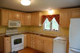 painting ivory oak kitchen cabinets combined white granite island
