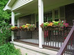 Hanging Flower Pots Balcony Railings