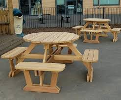 picnic benches and tables round wooden 8 picnic tables and benches wooden picnic table with benches picnic benches and tables