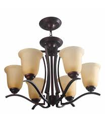 learc designer lighting wrought iron rustic finish chandelier ch124