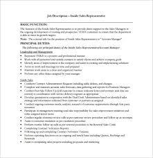 Gallery Of Sales Intern Job Description Sample 9 Examples In Pdf ...