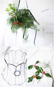 Kronleuchter Deko Weihnachten Selber Machen Gestell Ilex