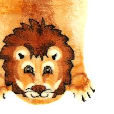 lion kids rug head taxidermy walk on me lion skin rug