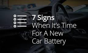 Signs Of A Dying Or Dead Car Battery Towing Blog