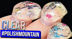 return to polishmountain the clear adventure 100 coats of nail polish you