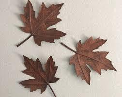 metal maple leaf wall art