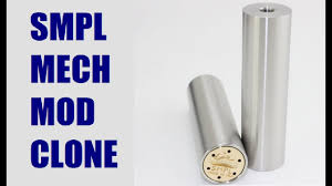 Smpl Epic Design Smpl Mechanical Mod Clone From Fasttech