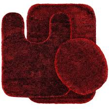 chili red garland rug bath rugs mats dec 3pc 04 64 1000 home design traditional pepper