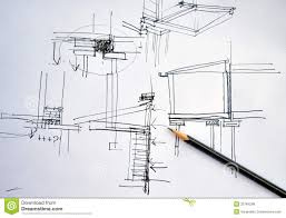 architectural hand drawings. Contemporary Hand Draft Hand Drawing Architecture Plan With Pencil Throughout Architectural Hand Drawings