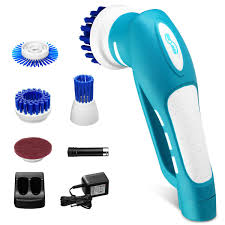 Housmile Cordless Power Scrubber with Rechargeable Battery for ...