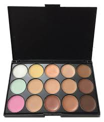 mac cosmatics 15 colors concealer makeup palatte makeup kit 180 gm mac cosmatics 15 colors concealer makeup palatte makeup kit 180 gm at best s in