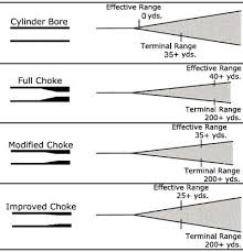 Shotgun Spread Pattern Chart Pin On Guns Shooting