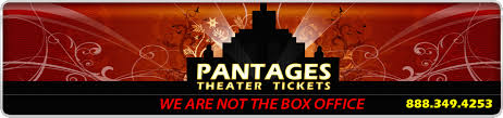 Pantages Theater Seating Chart Los Angeles