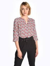 <b>Viscose floral print</b> blouse   GATE