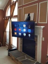 TV Over Fireplace Mounting And Installation Services  Charlotte NCMounting A Tv Over A Fireplace