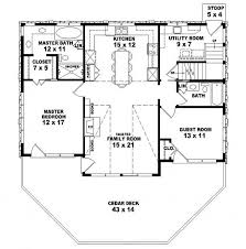 House Plan W3133 Detail From DrummondHousePlanscomCountry Style Open Floor Plans