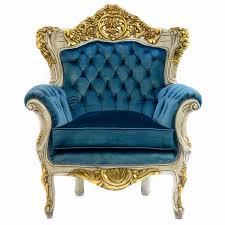 Von Barock Bauen Stuhl Beste Sessel Samt Grün Antik Schöner