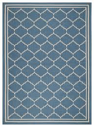 safavieh courtyard cy6889 243 blue ivory rug mediterranean outdoor rugs by plushrugs
