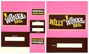 wonka chocolate bar wrapper. Contemporary Chocolate Vintage 70u0027s Wonka Kit Chocolate Candy Bar Wrappers And Wrapper P