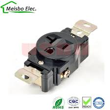 online get cheap 3 holes socket aliexpress com alibaba group Nema 5 20r Outlet Diagram american 120v 20a 3 hole nema 5 20r us single generator outlet anti off NEMA 5 -15R Outlet