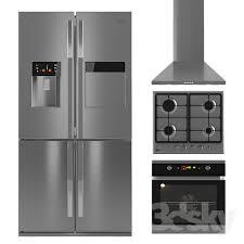 set of kitchen appliances beko