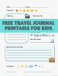 30 Travel Log Template Professional | Template Design Ideas