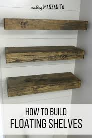 Best Place To Buy Floating Shelves How To Build Floating Shelves For Extra Bathroom Storage 92