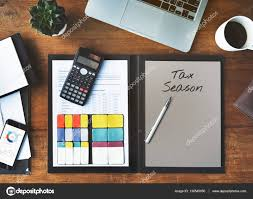 Personal Organizer And Calculator On Table Stock Photo Rawpixel