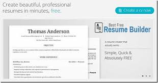 best free resume builder online