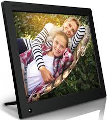 nixplay original 15 inch wifi cloud digital photo frame iphone android app email facebook dropbox instagram picasa w15a com
