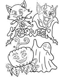 Small Picture 67 best Coloring Activity Pages Halloween images on Pinterest