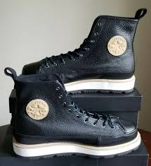 new converse chuck taylor all star crafted leather boot hi us 8